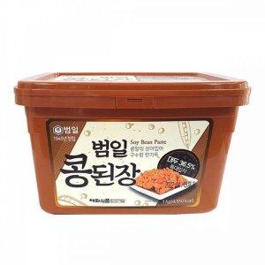 범일 콩된장3kg 된장 콩 식품 범일 콩된장3kg 된장 콩