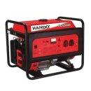 한도 산업용 발전기 HD5500D 4.5KW 리코일 시동 74KG