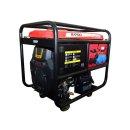 한도 산업용 발전기 HD12000DP 11KW 키시동 150KG
