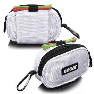 2202i 벨트형 다용도 골프볼파우치 골프공주머니 흰색