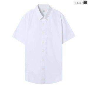 (현대Hmall) 하프클럽/탑텐 남성 코튼 스판 반팔 드레스 셔츠MSZ2WD1901