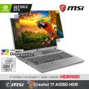 MSI 크리에이터 17 A10SD HDR/Win10 / +마우스증정