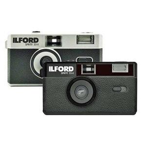 일포드 Sprite 35-II 레트로 필름카메라 (블랙 실버)