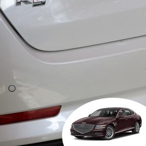 신형 G80 트렁크 로워 범퍼 범퍼 PPF 투명 보호필름