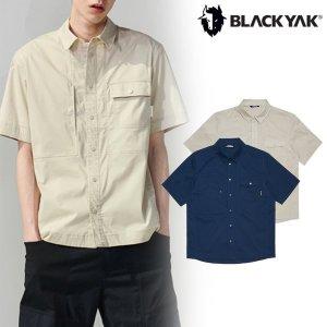 (신세계강남점)  U카디프S셔츠1   21년 SS시즌 신상품 남성 라이프스타일 반팔 우븐 셔츠   1BYYSM1003