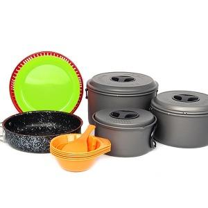 버팔로 코펠 경질 5-6인용/식기세트 캠핑용품