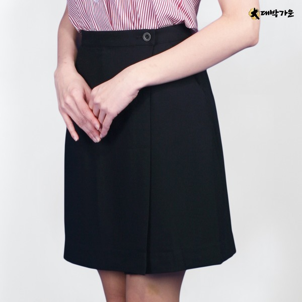 DRU59 유니폼/조끼/스커트/서빙복/치마바지/랩스커트