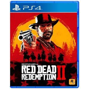 PS4 레드 데드 리뎀션 2 한글판 중고