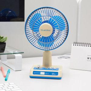 블루아이디 레트로 무선 선풍기 (블루/클래식레트로) - 상품 이미지