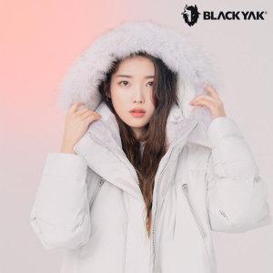 블랙야크   아이유다운 여성용 한겨울 구스 롱패딩 구스다운 B모션네오벤치2종