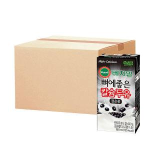 베지밀 뼈에좋은 칼슘 검은콩 두유 190ml 64팩