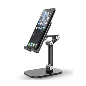 3단 관절 휴대용 접이식 핸드폰 태블릿 핸폰 거치대