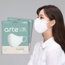 아르떼 새부리형 마스크 KF94 100매 화이트 개별포장