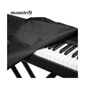 뮤직인  전자키보드  신디사이저 전체 덮개 61 76 88건반 /건반악기 피아노 커버
