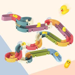 유아 아동 어린이 DIY 목욕놀이 워터 슬라이드 장난감