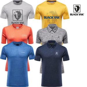 (현대백화점)블랙야크 남성 여성 반팔 티셔츠 균일가 모음전 6종 택1