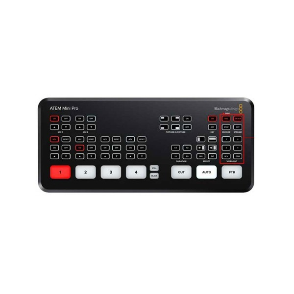 블랙매직정품 ATEM Mini Pro 웹방송용 멀티뷰 탑재