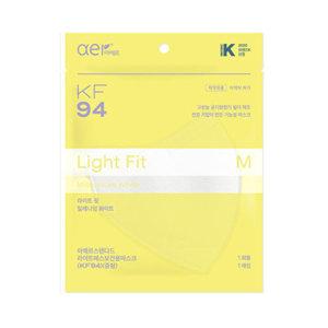 아에르 라이트핏 KF94 마스크 중형 화이트 50매