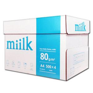 밀크(Miilk) A4용지 80g 1박스(2000매)