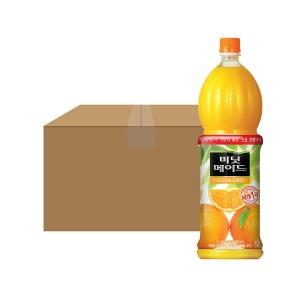 미닛메이드 오렌지 1.5PET X12 1박스