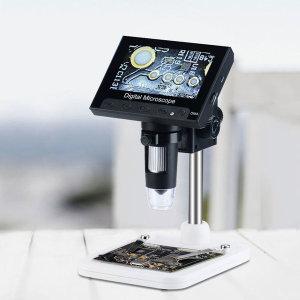 (해외직구)Zhongxing 4.3인치 디지털 현미경 DM4