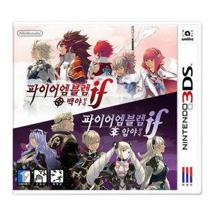 3DS 파이어 엠블렘 if 한국어 새제품/당일출고