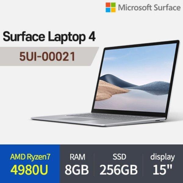 마이크로소프트 서피스랩탑4 5UI-00021 노트북 AMD R