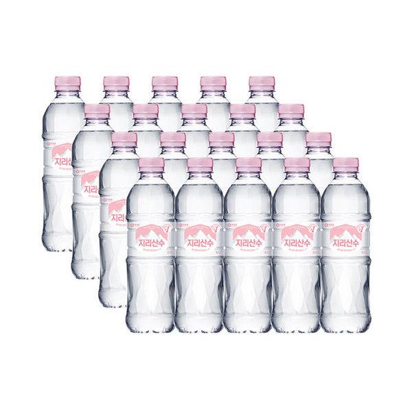 지리산수 핑크 500ml 20병 /생수전문배송