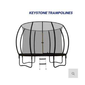 NEW 키스톤 프리미엄 펌킨 대형 트램폴린 10피트 고급