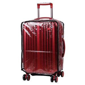 20인치 투명 기내용 캐리어 커버 / 여행용 가방 덮개