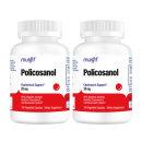 2개 머스핏 쿠바산 폴리코사놀 20 mg 사탕수수 100 베지 캡슐 Musfit 빠른직구