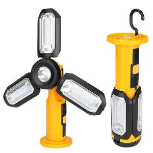 충전식 LED 작업등 캠핑랜턴 손전등 후레쉬 J94