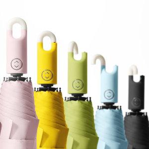 고리 3단 자동우산 UV 자외선차단 우양산 여름휴대용