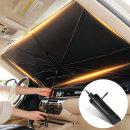차량용 햇빛가리개 우산형 원터치 가리막 앞유리우산