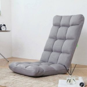 하이파스텔 좌식의자 등받이 접이식 의자