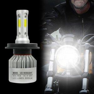 오토바이 전조등 H4 모터사이클 LED라이트 교체형전구