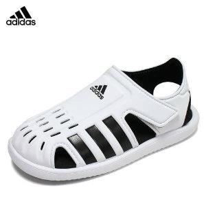 (현대Hmall)아디다스 키즈 워터 샌들 C 화이트 아동 유아 주니어 어린이 벨크로 찍찍이 여름 물놀이 신발 F