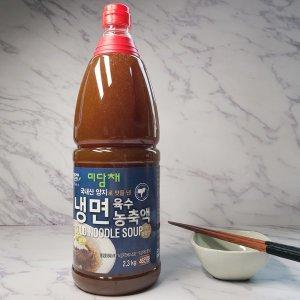 미담채 냉면육수농축액 2.3kg 46인분 막국수 업소용