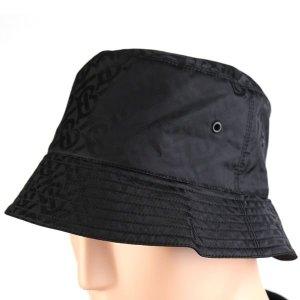 갤러리아   버버리  21SS 블랙 자카드 모노그램 공용 모자 버킷햇 8031026