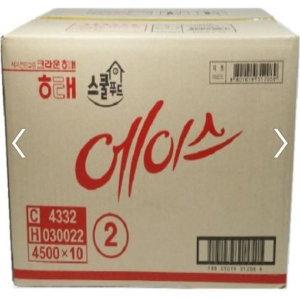 대용량과자세트/에이스364g x 10(1박스) 무료배송+할인