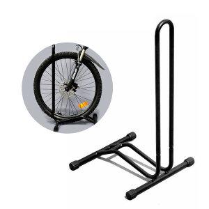 L자형 자전거 거치대 실내 실외 자전거 진열대 받침대
