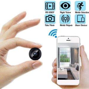 1080p HD 소형 IP WiFi 사진기 무선 안전 원격 감시