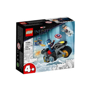 레고 슈퍼히어로 76189 캡틴 아메리카와 히드라의대결