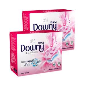 다우니 프리미엄 세탁세제 폼형 핑크 16개입 1+1