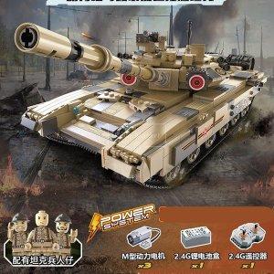 레고호환 원격제어 장갑차 T90 전차 탱크 1/10 신제품