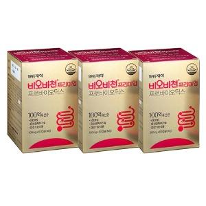 비오비천 유산균 60캡슐X3+일동케어리브10매