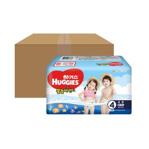 하기스 물놀이팬티 4단계 공용 10PX10팩(총100매) - 상품 이미지