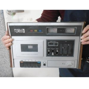 뒷판없는 파나소닉 카세트라디오  옛날라디오 고가전