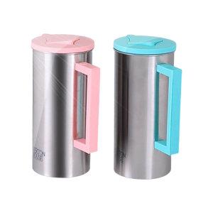 냉장고 스텐물병1.6L 1+1