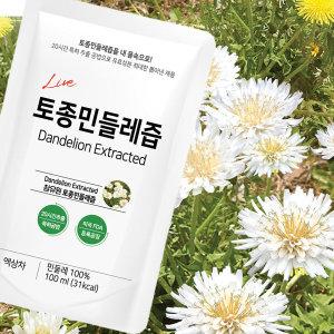 참유원 국내산 토종 민들레 흰민들레즙 100ml 100포